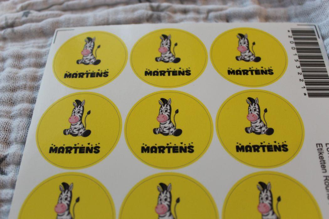 Produkttest Stickerkid Namensetiketten Für Schule